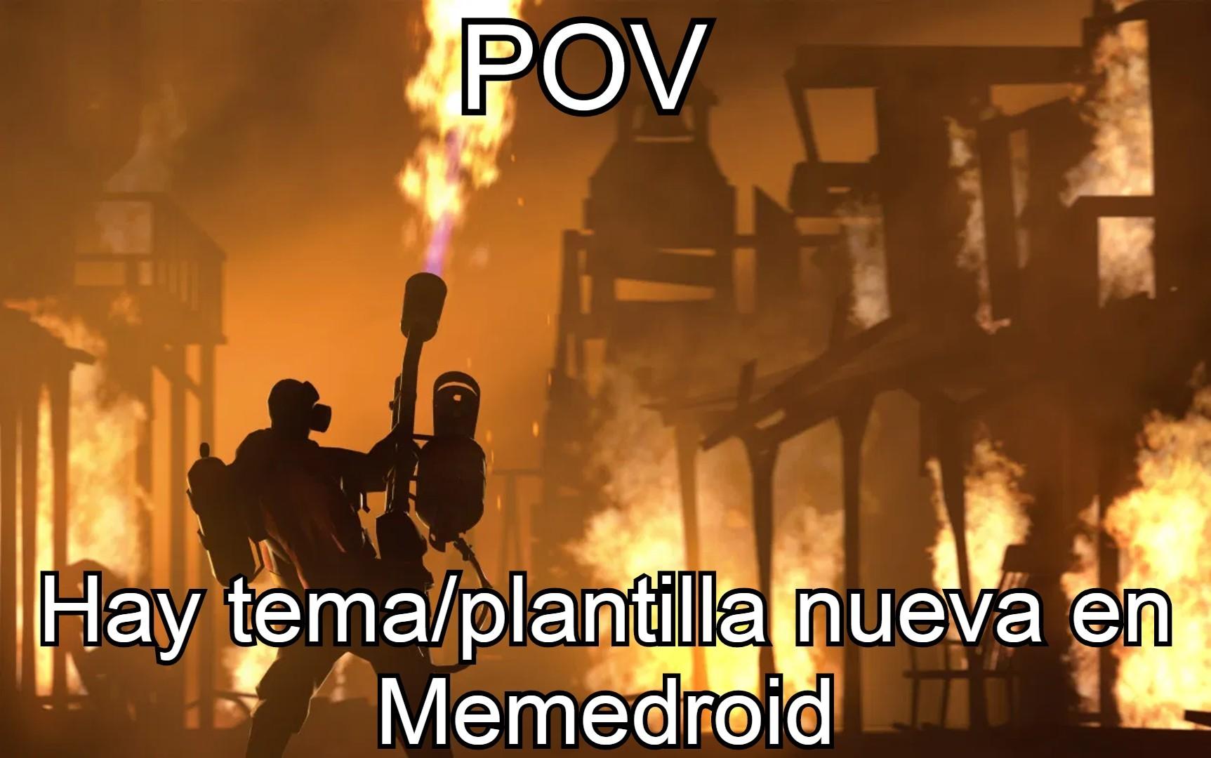 Creo que los memes de POV están muertos, pero da igual, aquí uno