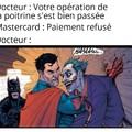 Même Batman est choqué