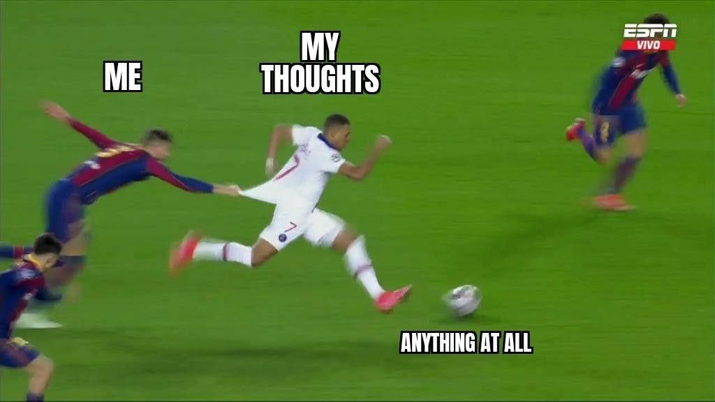 thoughts go brrrrrrrr - meme