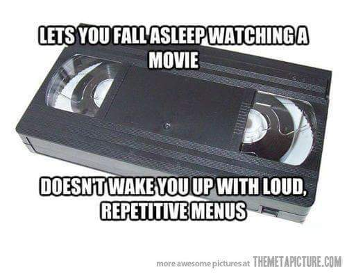 Video tapes ! - meme