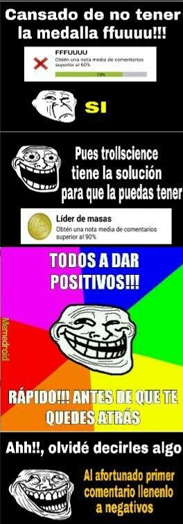 Fiesta De Positivos!! - meme