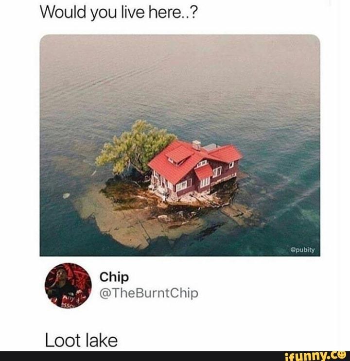 More like lucky landing - meme
