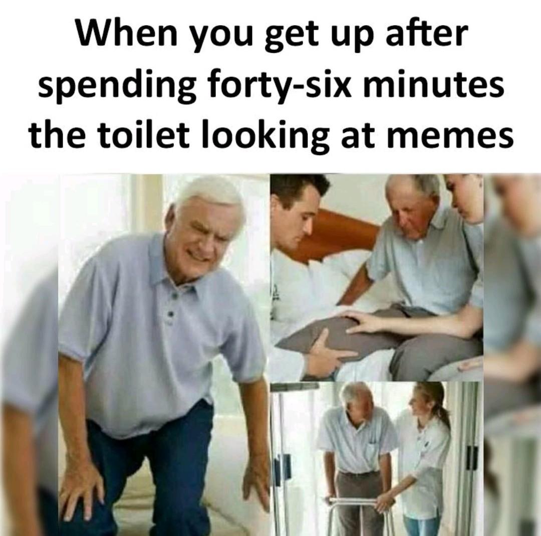 Feel the pain - meme