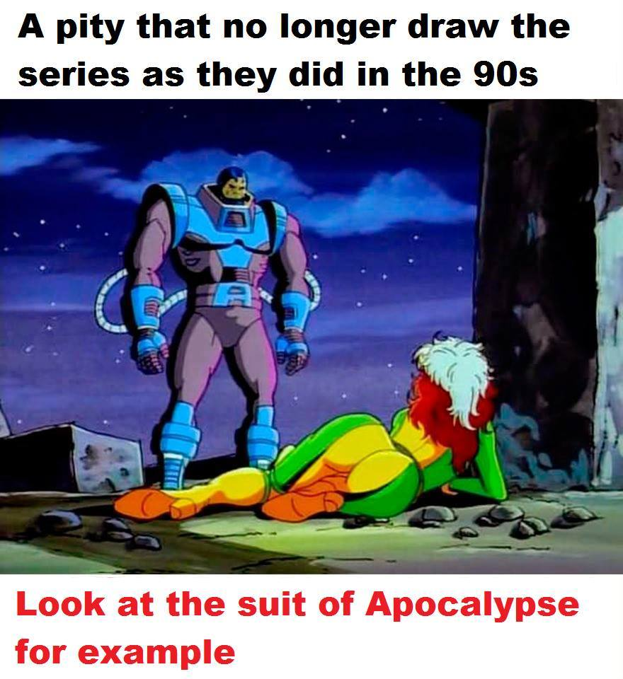 Apocalypse is a niBBa - meme