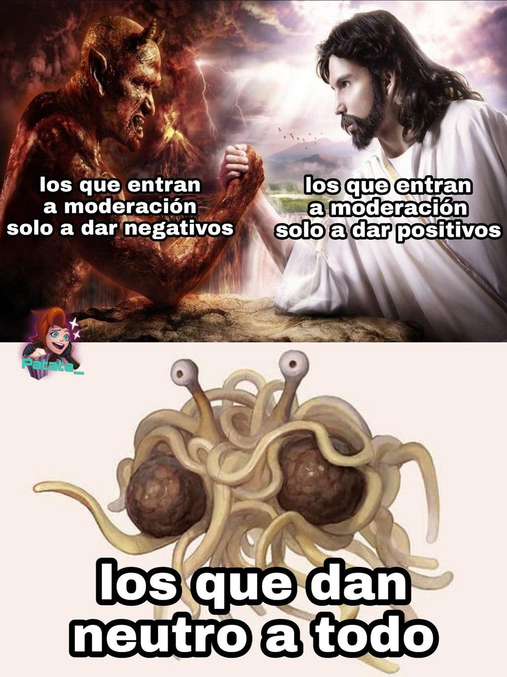 obviamente tú eres un dios bueno ♡ - meme