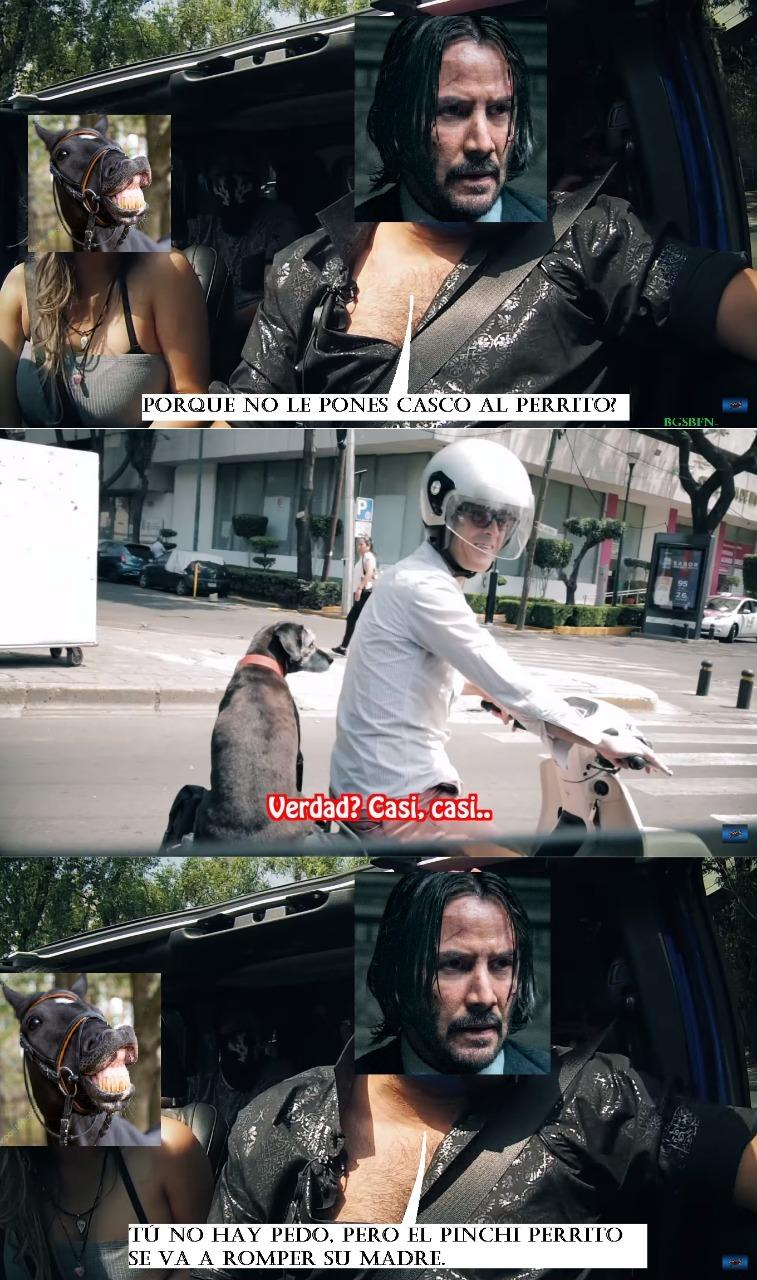 Al volante con el Escorpión Dorado y caba... Lisbeth Rodriguez. - meme
