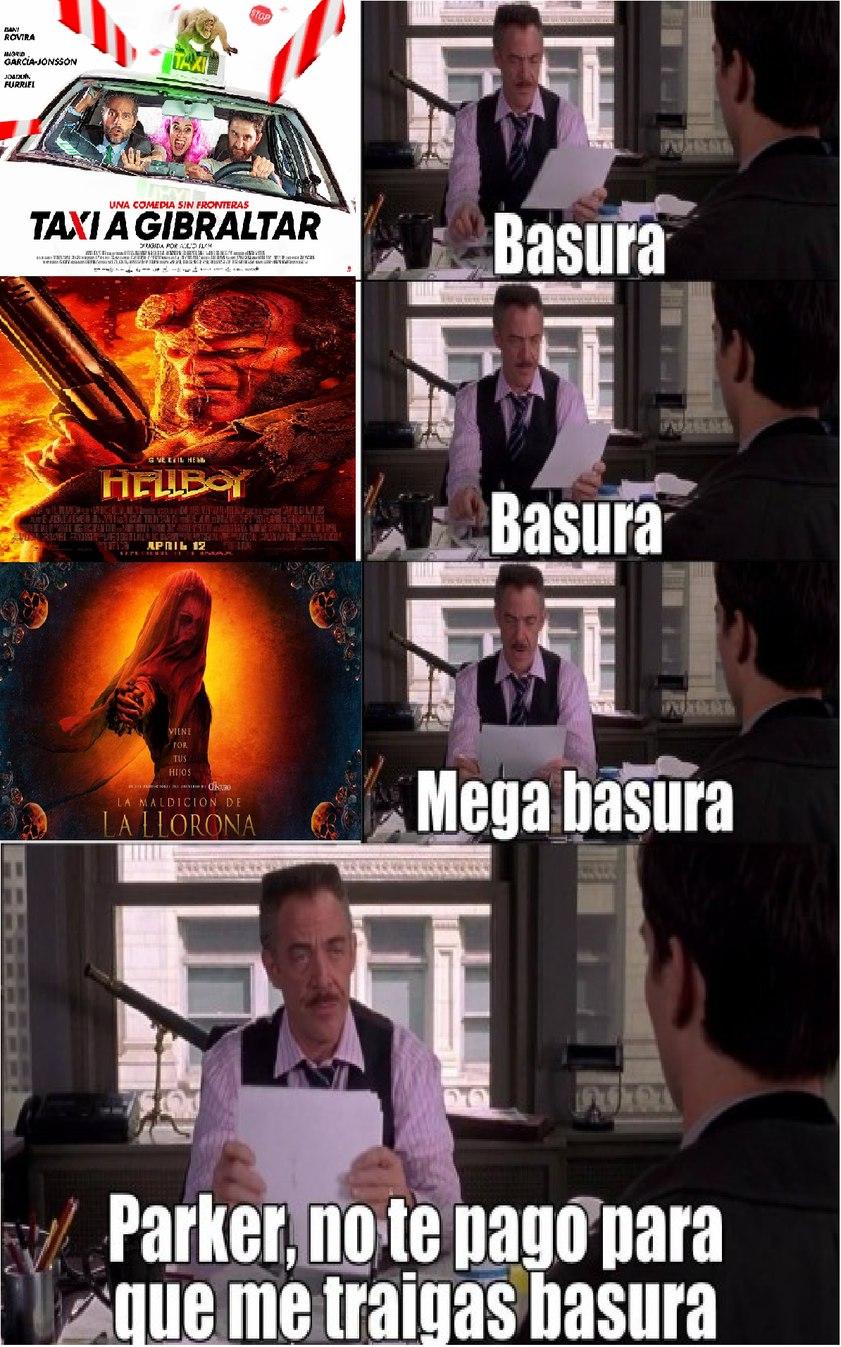 en el cine - meme