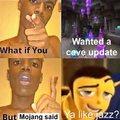 Mojang be like