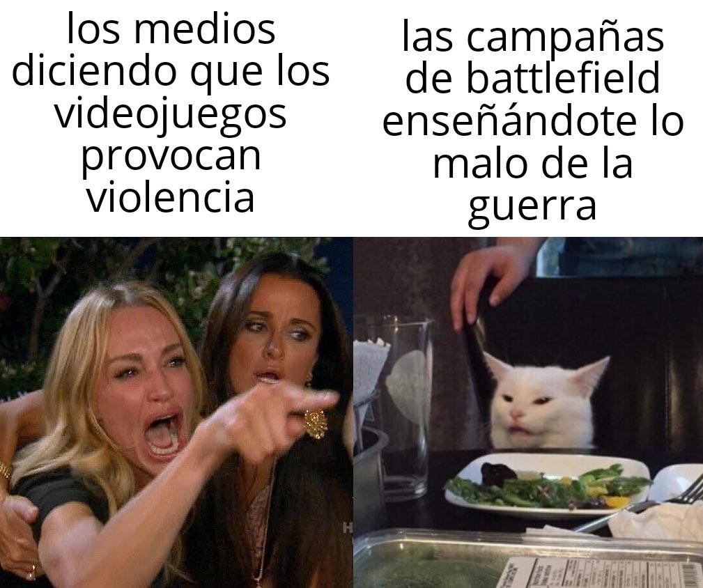 Esto es battlefield - meme