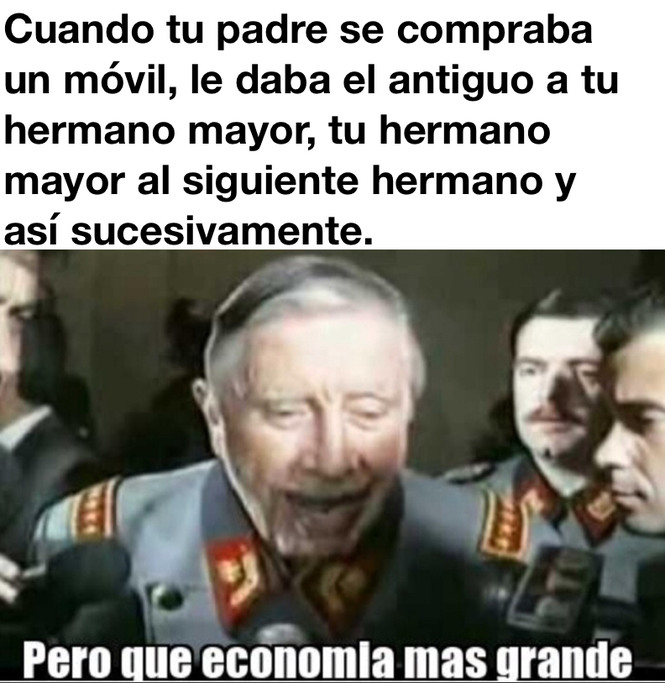Vaya economía - meme