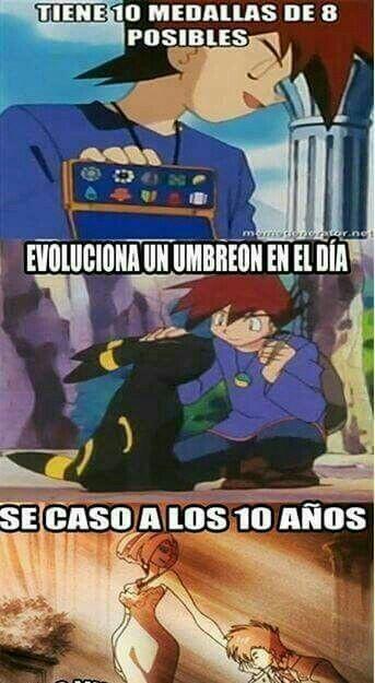 Pokemon era mejor cuando Gary estaba - meme