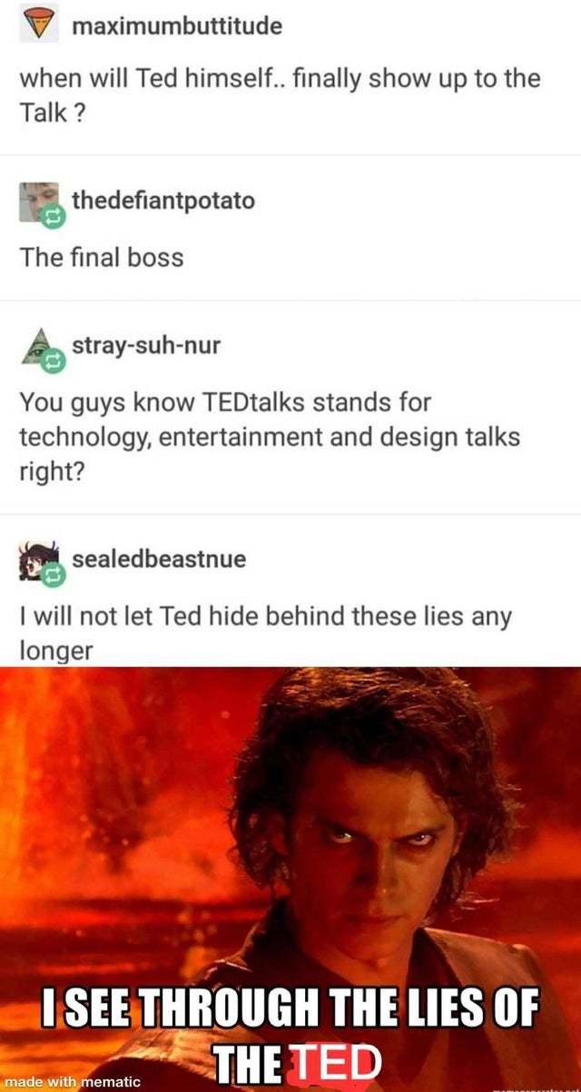 TED - meme