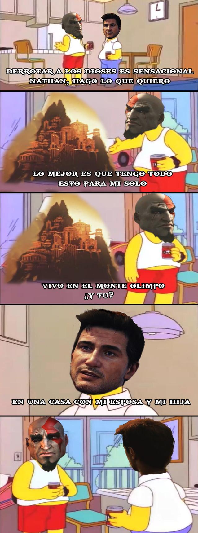 ese kratos - meme