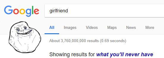 Quand même google n'y croit plus. - meme