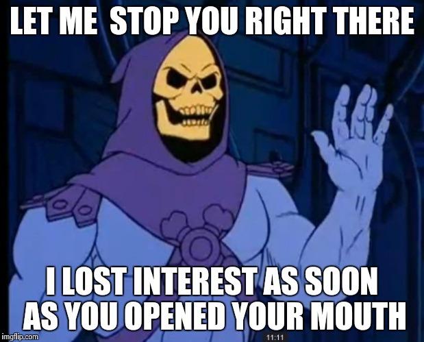 Skeletor Goodness - meme