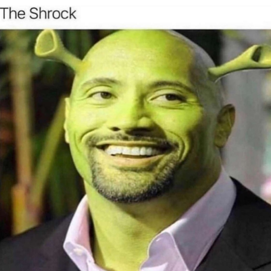 Shrock is love, Shrock is life - meme