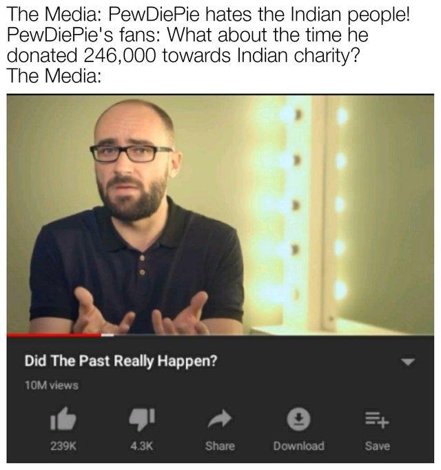 The Media - meme
