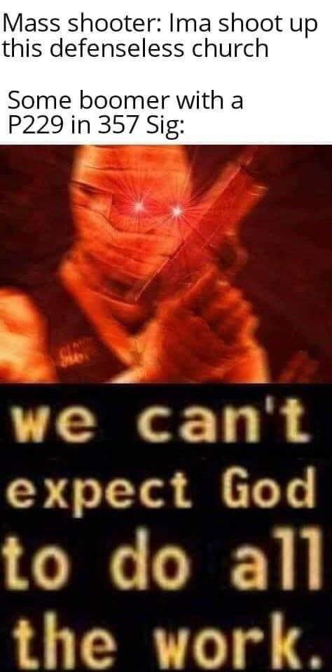 Let God sort em out! - meme