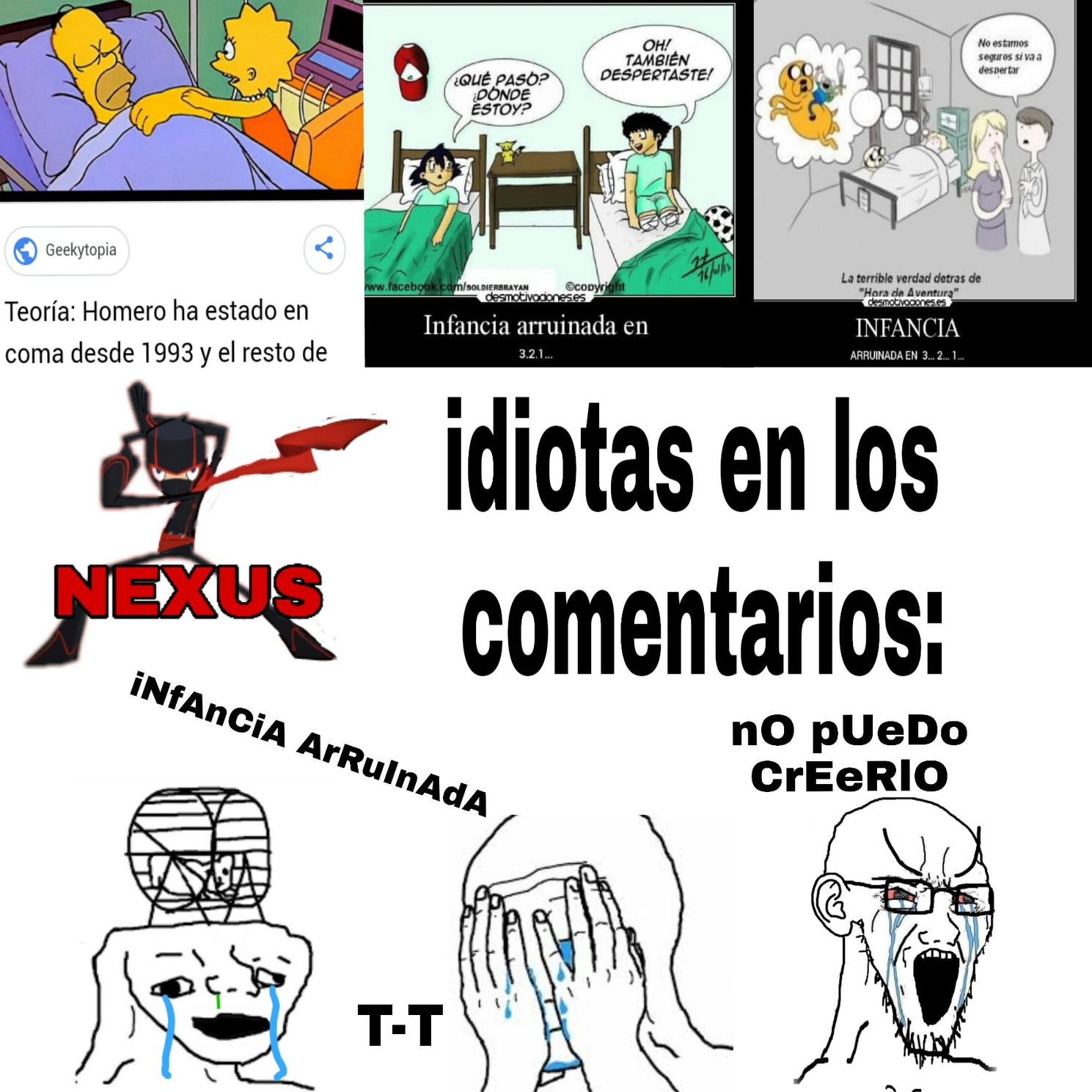 InFaNcIa ArRuInAdA - meme
