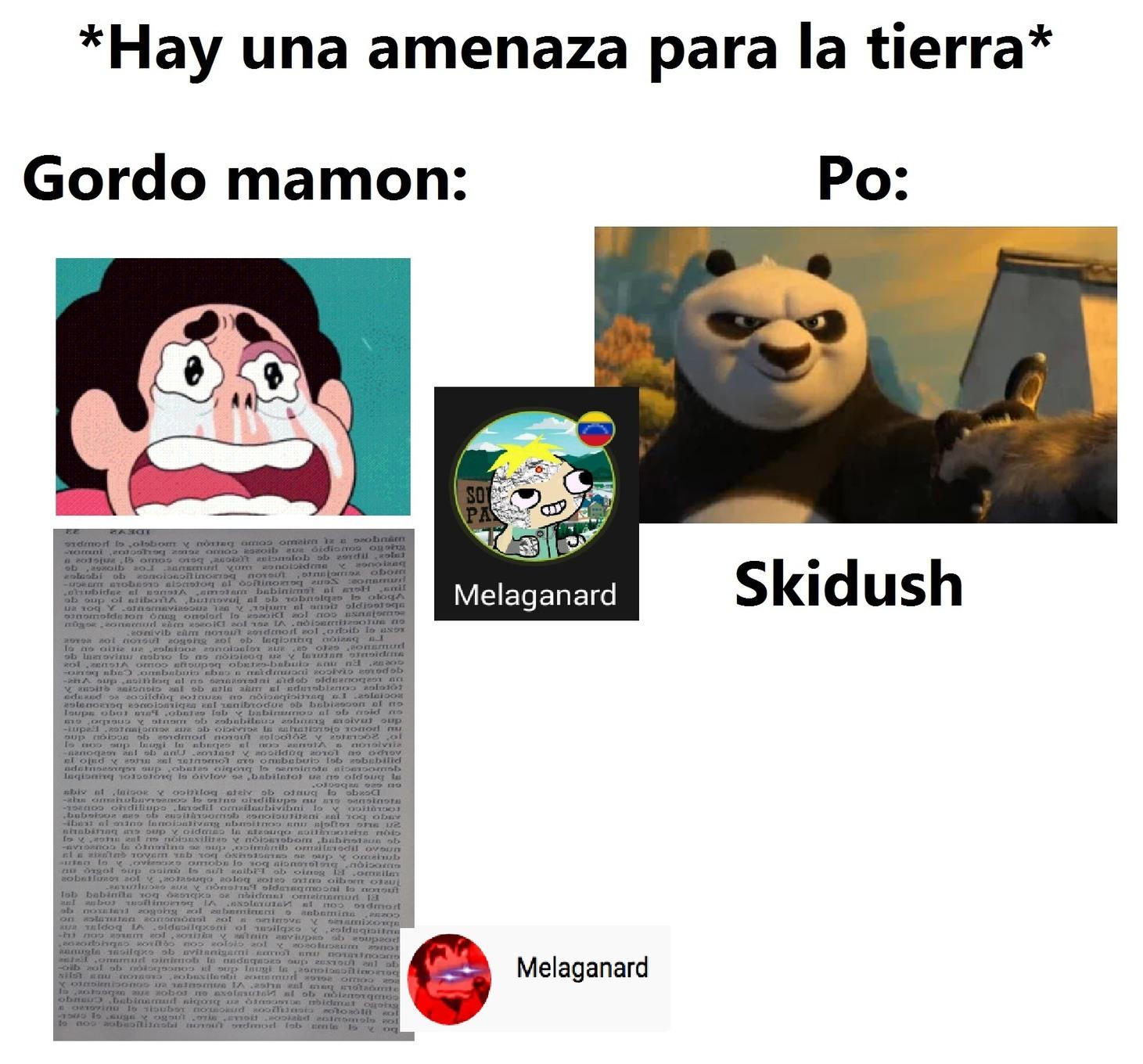 Skidush - meme