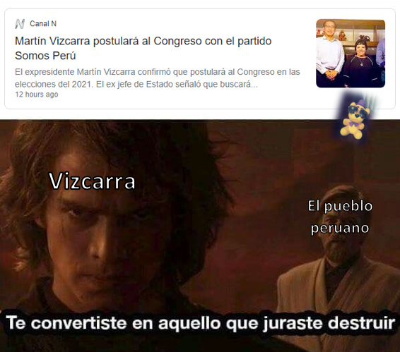 NOOO VIZCARRA :( - meme
