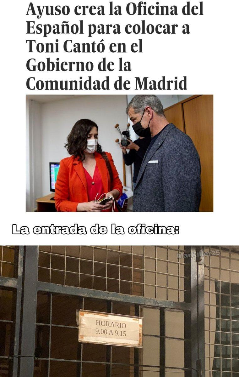 el chiringuito del español xd - meme