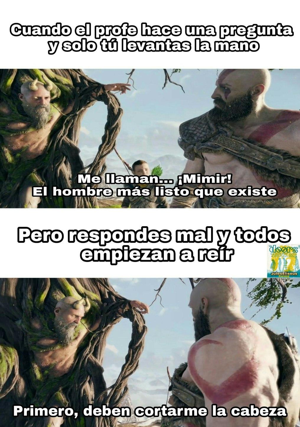 Nuevo God of War, nueva plantilla - meme