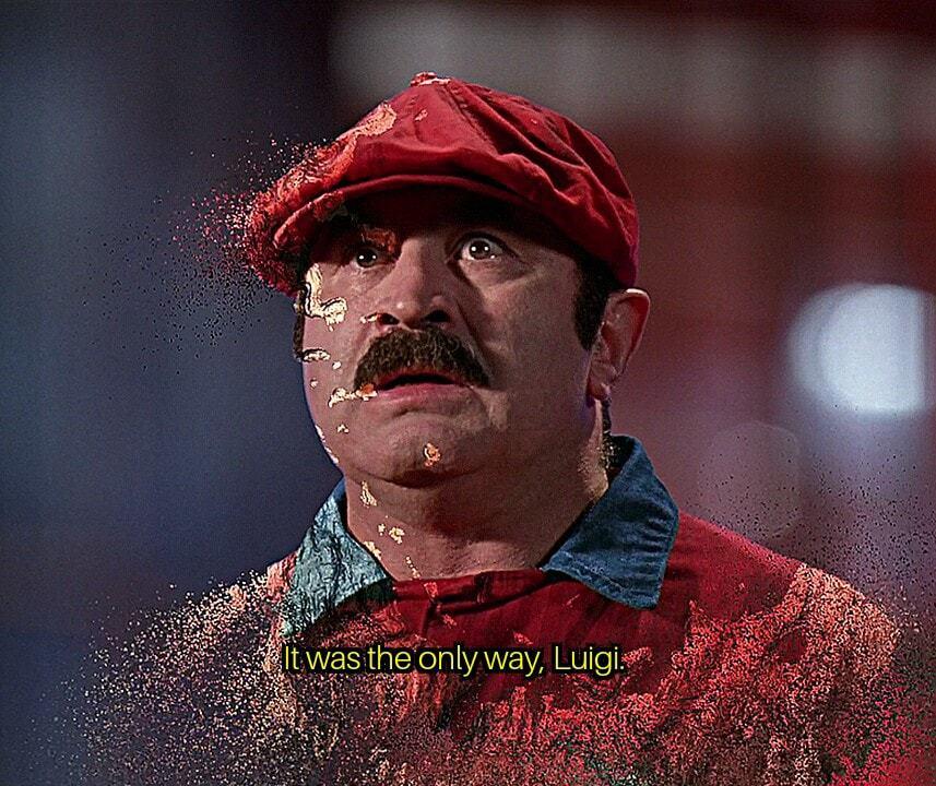 I was the only way, Luigi - meme