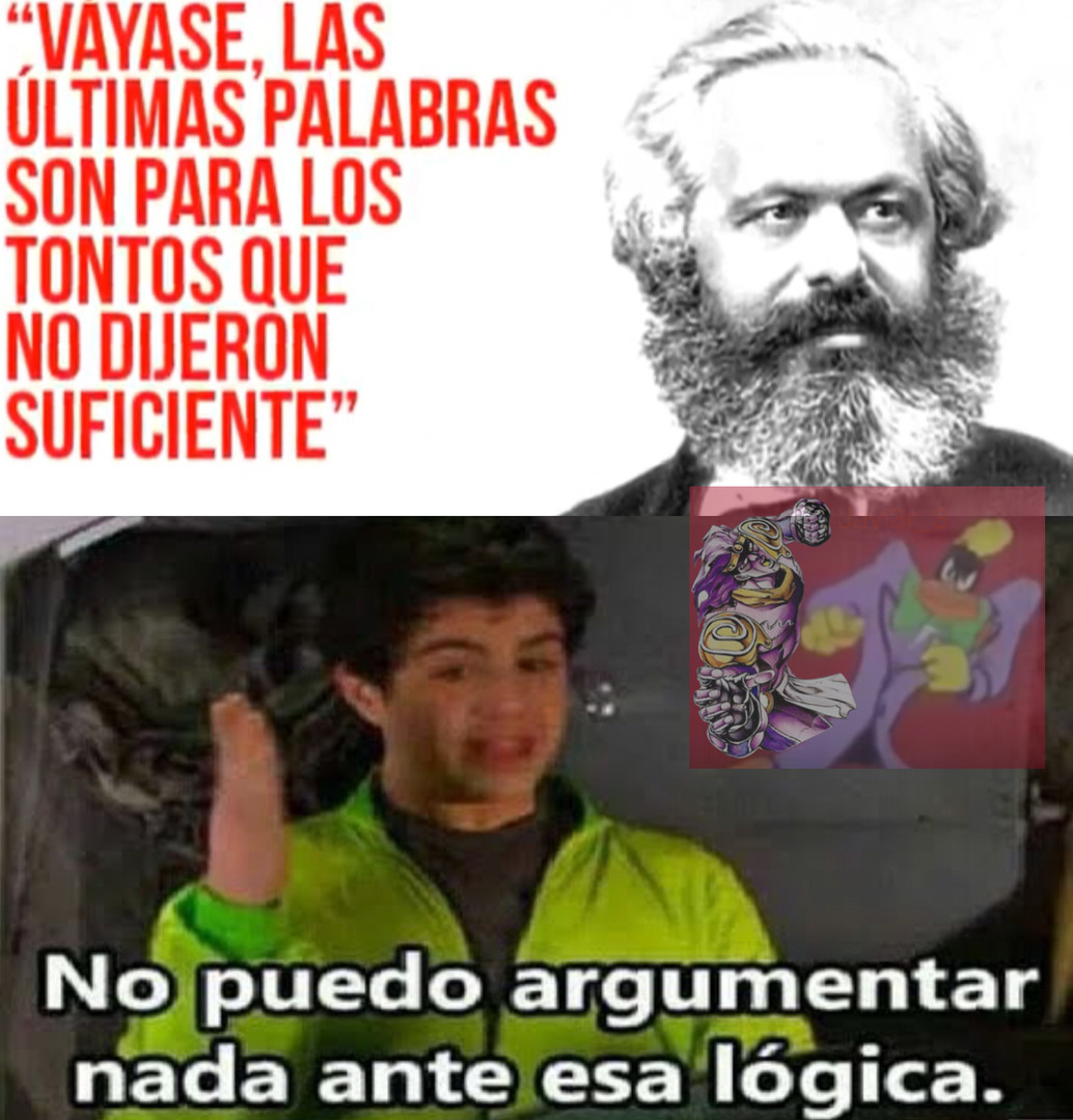 No puedo argumentar contra esa lógica - meme