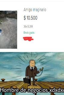 hombre de negocios xd - meme