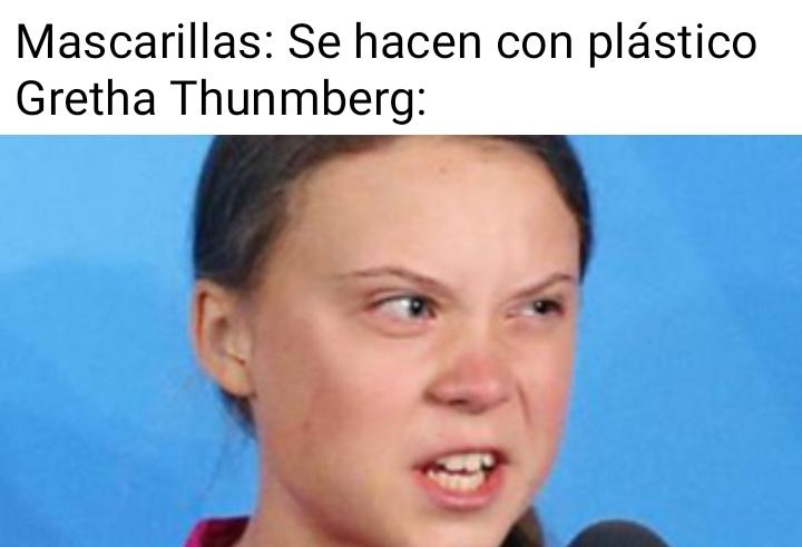 Gretha thunberg triggered - meme