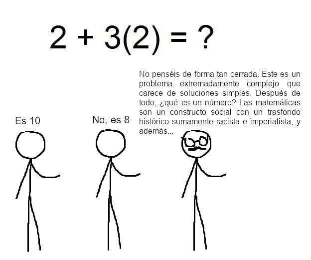 Matematicas en el futuro - meme