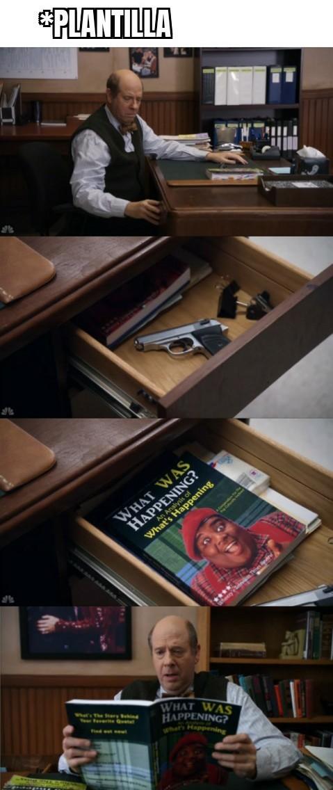 Ese libro es como un: PENSAR PARA DUMMIES - meme