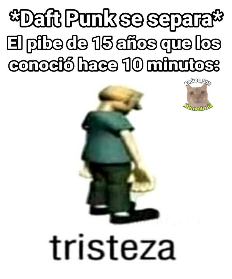 Tristeza - meme