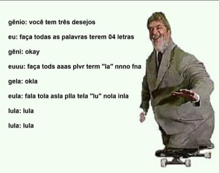 Lula lalu - meme