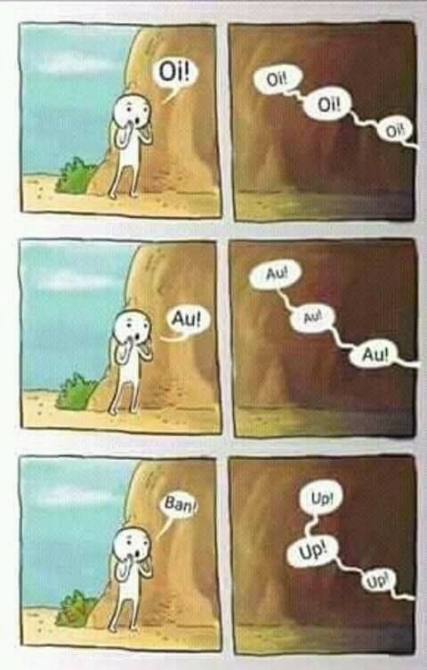 Em certos grupos - meme