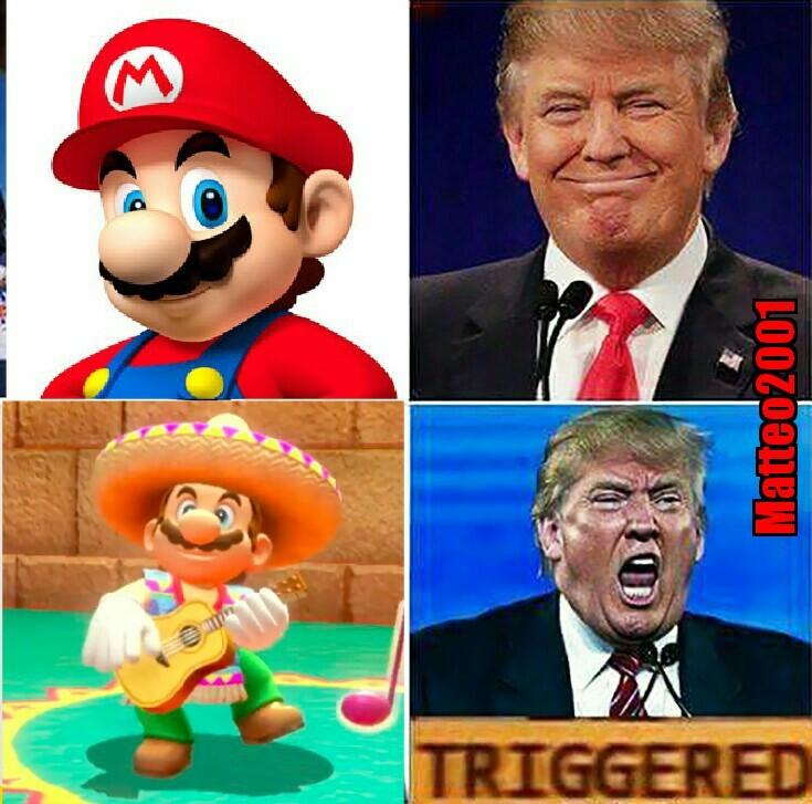 Super Mario versione messicano - meme