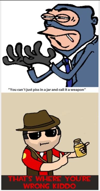 stab, stab,  stab.  psyche JARATE - meme