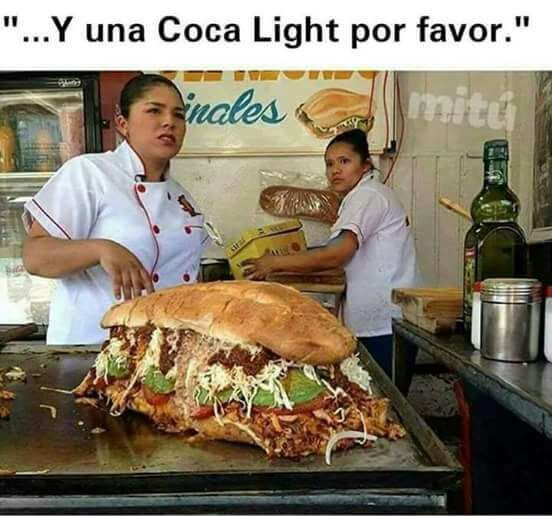 "Hay que ser ""light"" - meme"
