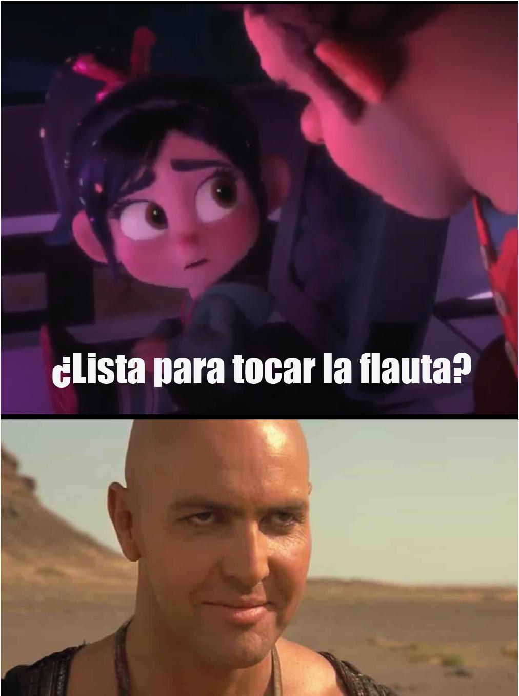 La flauta-RalphElDemoledor - meme