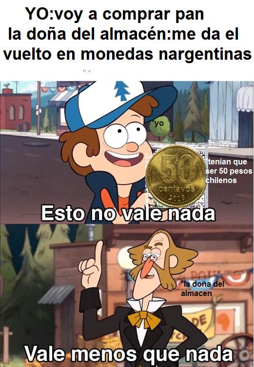 quiero mis 50 pesos - meme