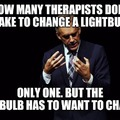 Change the lightbulb