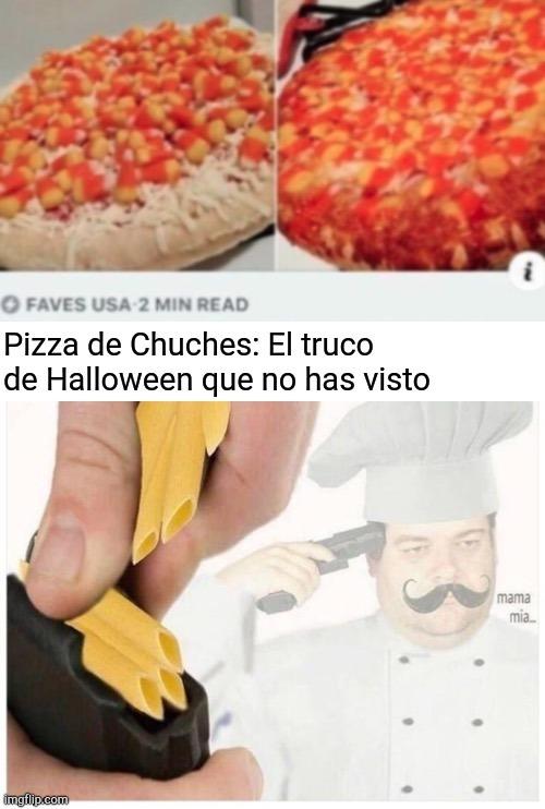 Pizza arruinada - meme