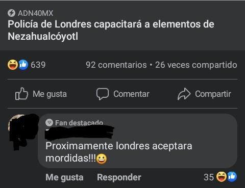 Meme: Entonces Que¿Capacitarán Londres O Nezahualcóyotl?