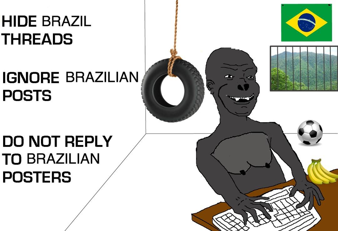 Brazucas - meme