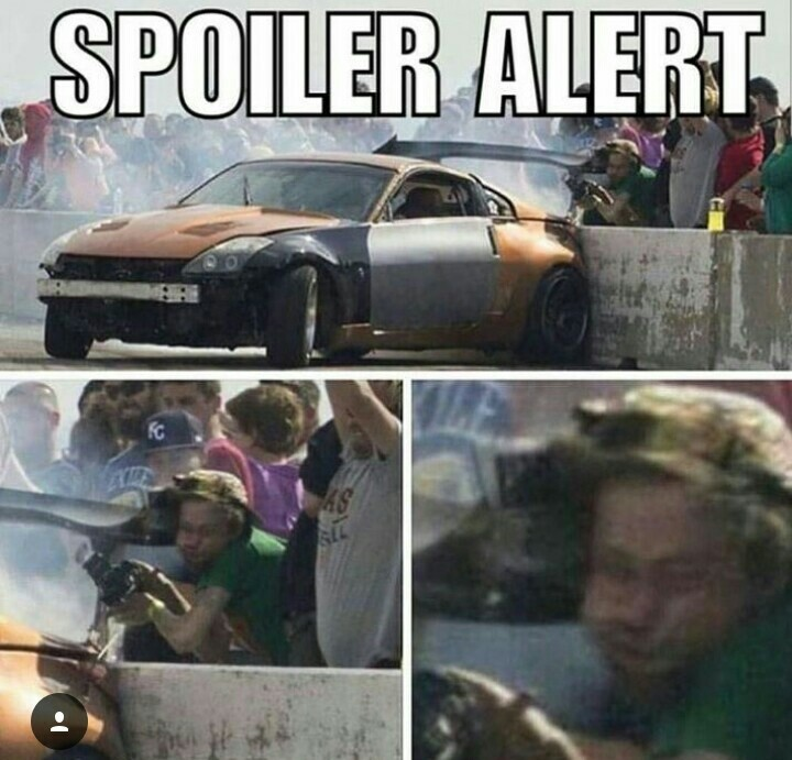 Spoiler alert - meme