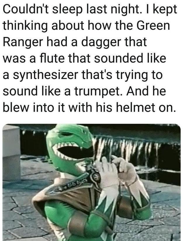 Green Ranger - meme
