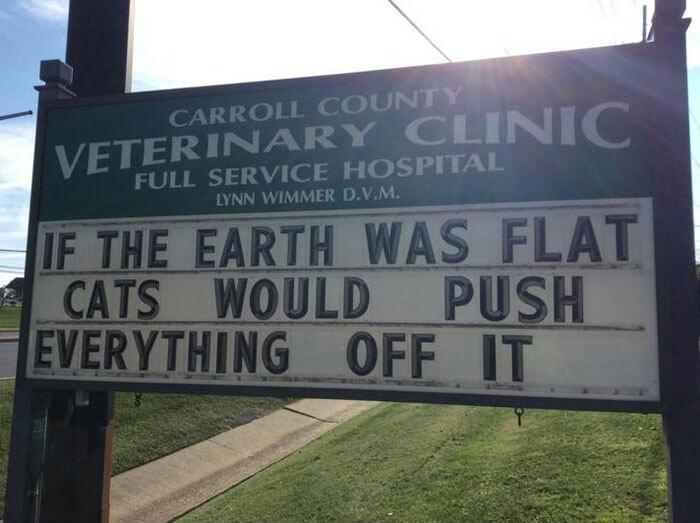 Proof that the earth isn't flat - meme