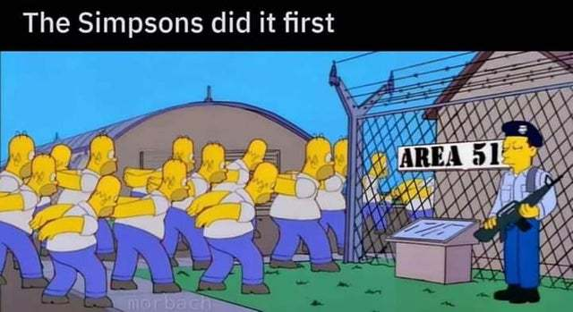 The Simpsons did it first - meme