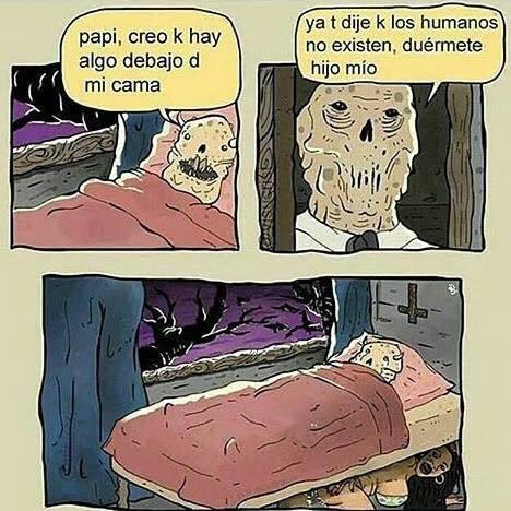 No hay una prostituta debajo de tu cama - meme